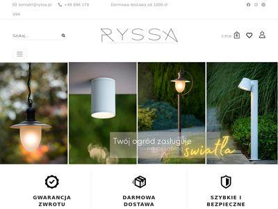 Ryssa.pl lampy - sklep internetowy