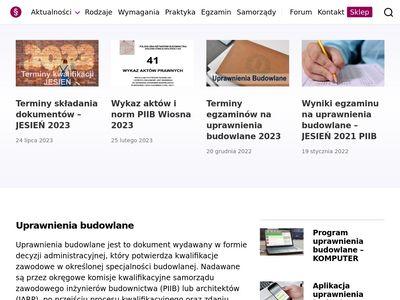 Uprawnieniabudowlane.pl szkolenia