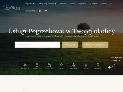 Uslugipogrzebowe.com.pl w twoim mieście