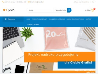 T-pack producent etykiet papierowych