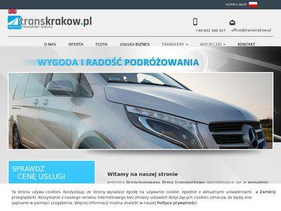 Transkrakow.pl - przewóz osobowy