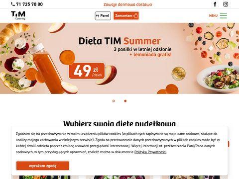 Timcatering.pl catering dietetyczny dieta