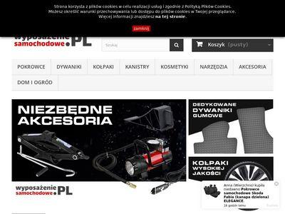 Wyposazeniesamochodowe.pl sklep online