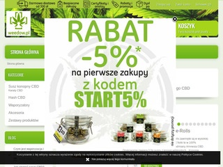 Weedow.pl - hash CBD