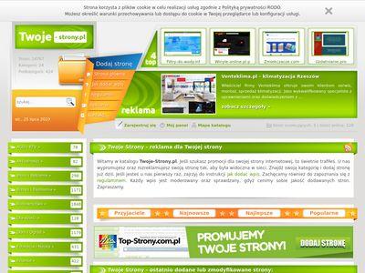 Twoje-strony.pl seo katalog