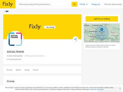 Socialframe.pl - agencja marketingu