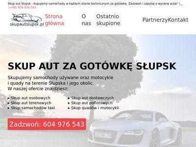 Skupautslupsk.pl samochodów uszkodzonych