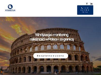 Straetus.pl odzyskiwanie długów Warszawa