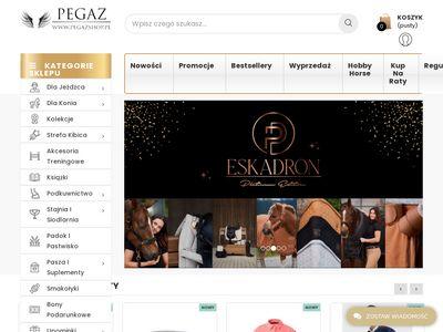 Pegazshop.pl preparat do pielęgnacji konia