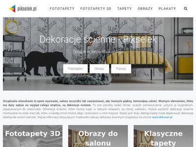 Pikselek.pl - fototapety 3D