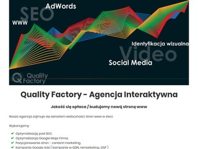 Quality Factory - działania SEO