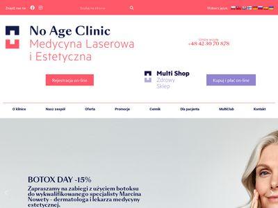 No Age Clinic - medycyna estetyczna