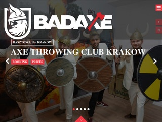 Bad Axe - Throwing Club Kraków