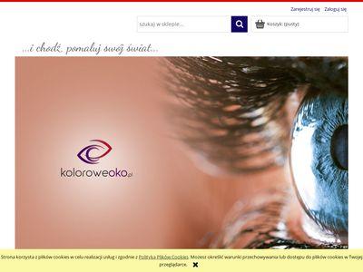 Koloroweoko.pl - sklep z soczewkami