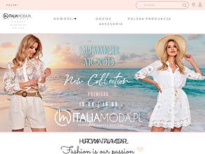 Italiamoda.pl - hurtownia odzieży