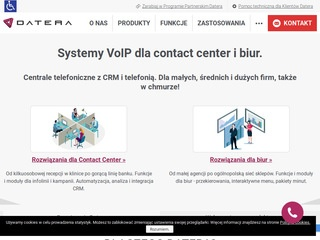 Datera.pl - system contact center