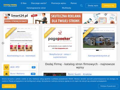Dodaj-firme.com.pl katalog firm