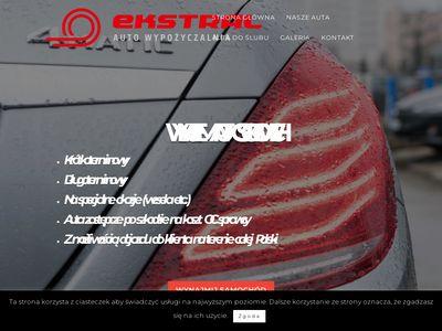 Ekstral.pl wynajem samochodów Białystok