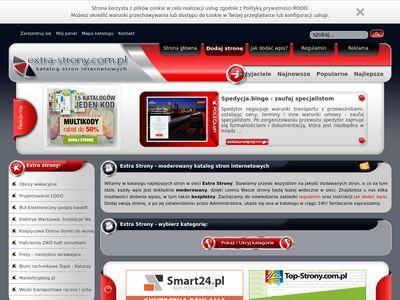 Extra-strony.com.pl katalog stron