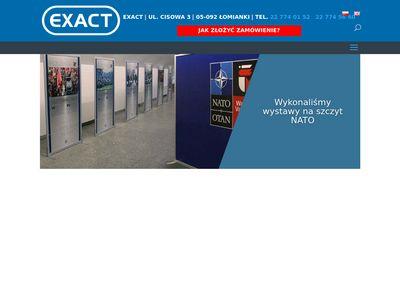 Exact.net.pl - tablice reklamowe