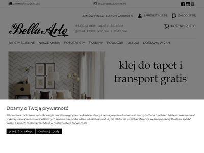 Bellaarte.pl ekskluzywne tapety ścienne