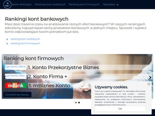 Bank-ranking.pl kont firmowych