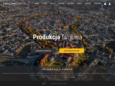 Cracowbydrone.com zdjęcia, filmy z drona