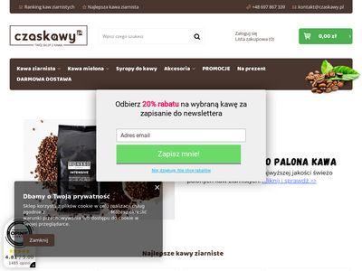Czaskawy.pl - sklep z kawą ziarnistą