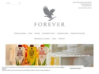Forever Living Products - aloes Polska