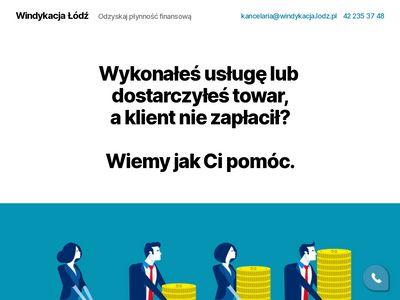 Windykacja.lodz.pl dobry windykator