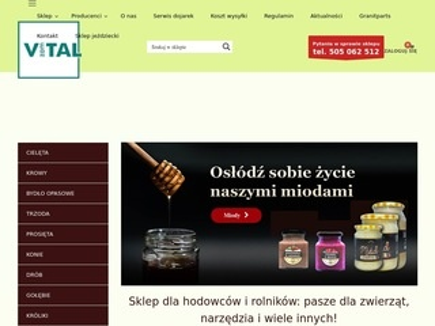 Vitalzam.pl - sklep z paszą