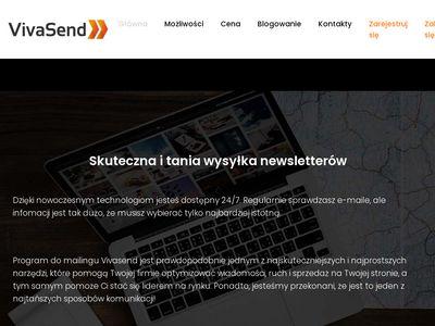 Vivasend.pl - kampanie mailingowe