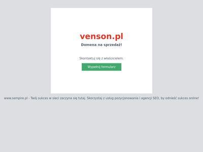 Venson - producent deski tarasowej wpc