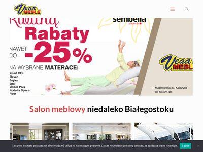 PPHU Vega-Meble salon meblowy podlaskie
