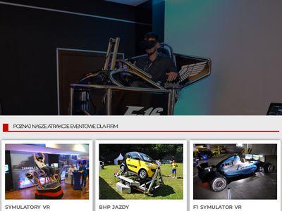 Vreal.pl symulatory VR na imprezy, event