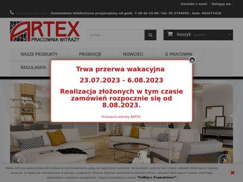 Artex pracownia - lampy witrażowe