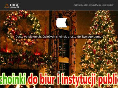 Warszawachoinki.pl - choinki Warszawa