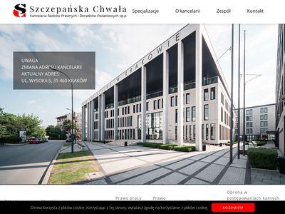 Wchwala.com.pl kancelaria