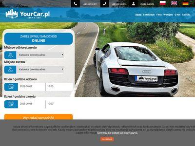 Yourcar.pl wypożyczalnia samochodów