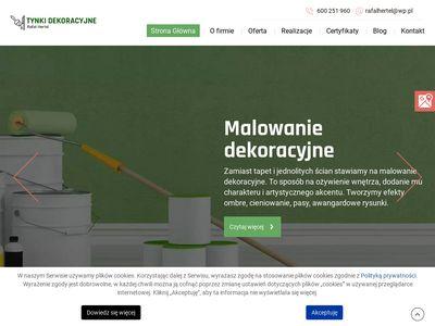 Tynkidekoracyjnerafalhertel.pl kładzenie