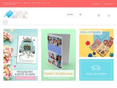 Twojakartka.pl oryginalne okolicznościowe