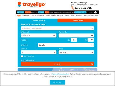 Traveligo.pl - wycieczki last minute