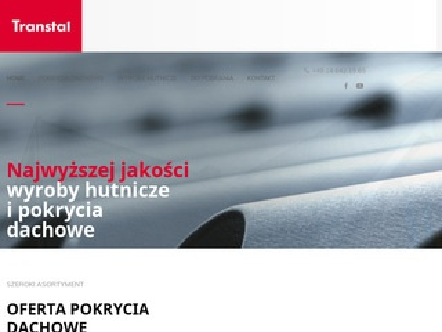 Transtal.pl blachy dachowe Tarnów