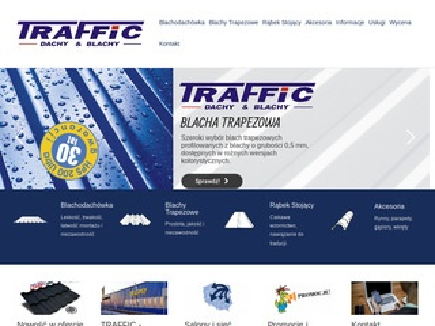 Traffic-blachy.pl blachodachówka Białystok