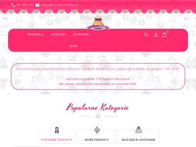 Tortoweozdoby.pl - dekoracje do tortów