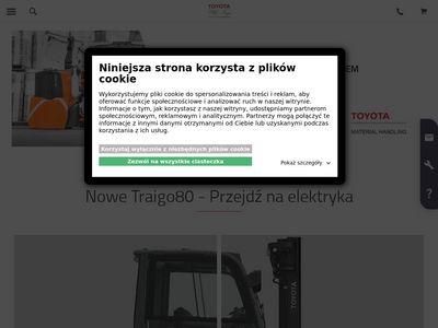 Toyota-forklifts.pl serwis wózków widłowych