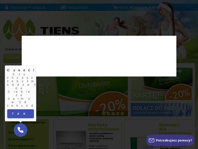 Tiens24.com sklep dla dbających o zdrowie