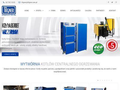 Biomasa - firma Tilgner