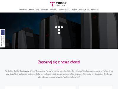 Times.com.pl drukarnia Bielsko
