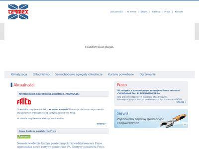 Termex.net.pl kurtyny powietrzne wodne